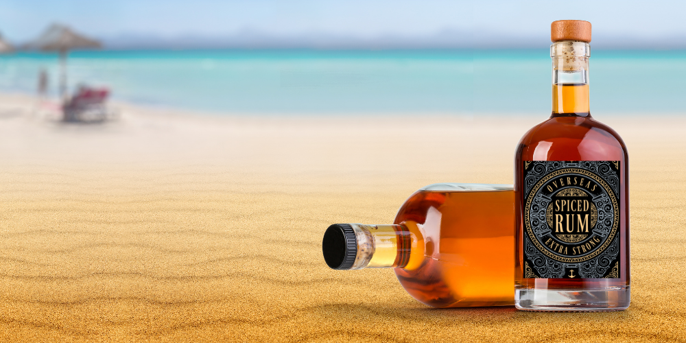 What to Include on a Rum Bottle Label